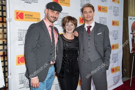 JT Mollner, Frances Fisher and Chad Michael Murray