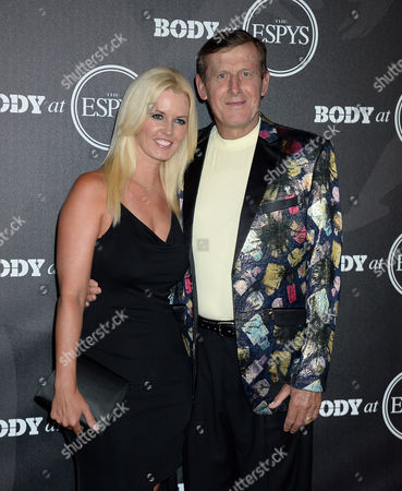 Craig Sager and wife
