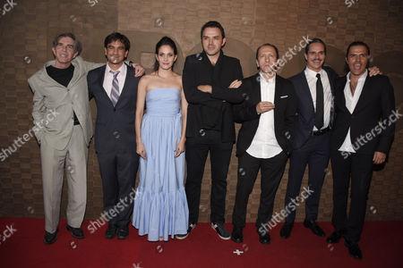 Fernando Ciangherotti, Camila Selser, Fernando Rovzar, Carlos Aragon, Tony Dalton and Billy Rovzar