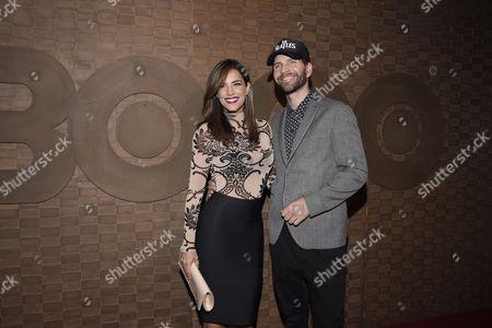 Gaby Espino and Arap Bethke