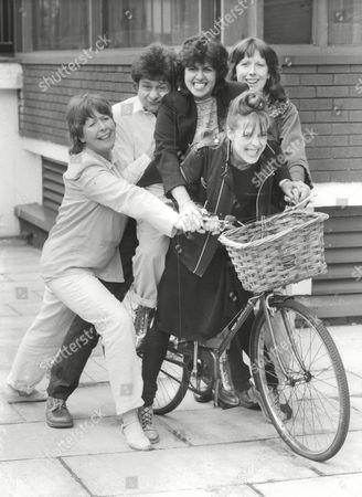 Television Programme: Revolting Women. L-r: Jeni Barnett Philip Bird Alison Skilbeck Linda Dobell And Linda Broughton. Box 663 127011641 A.jpg.