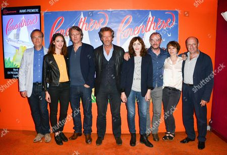 Editorial picture of 'Parenthese' film premiere, Paris, France - 12 Jul 2016