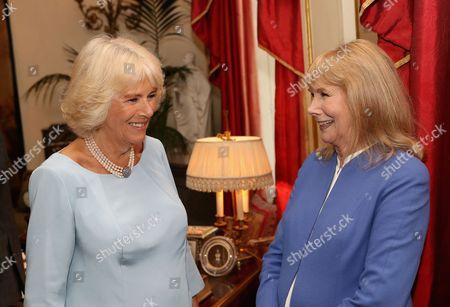 Camilla Duchess of Cornwall and Susan Hampshire