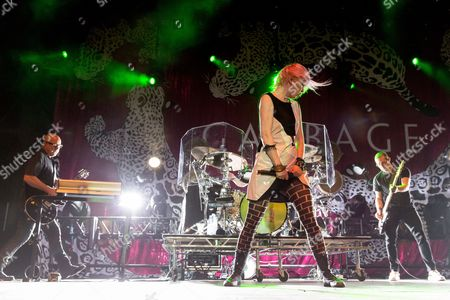 Garbage - Steve Marker and Shirley Manson