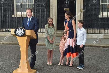 Editorial image of Prime Ministerial handover, Downing Street, London, UK - 13 Jul 2016