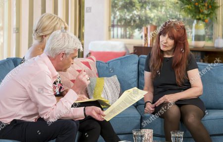 Janis Sharp, Phillip Schofield and Holly Willoughby