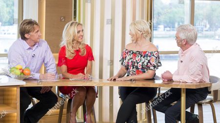 The Speakmans with Phillip Schofield and Holly Willoughby