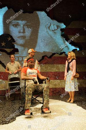 Paul Herzberg (Joe Celano), Ako Mitchell (Reggie Wells), Mark Rose (Tommy Lee Cook), Anne Archer (Jane Fonda)