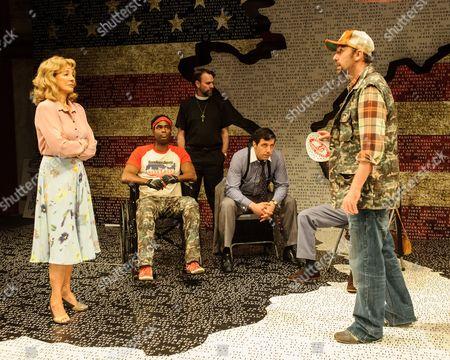 Anne Archer (Jane Fonda), Ako Mitchell (Reggie Wells), Mark Fisher (Reverend John Clarke), Alex Gaumond (Larry Bonk), Paul Herzberg (Joe Celano)