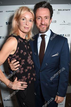 Stock Picture of Enrika Talling-Smith and Simon Talling-Smith