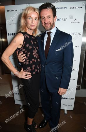 Stock Photo of Enrika Talling-Smith and Simon Talling-Smith