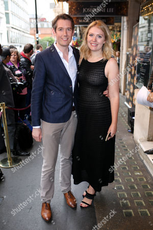 Stock Picture of Jamie Hendry and wife