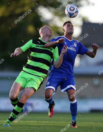 Editorial picture of Forest Green Rovers v Cardiff City - Pre Season Friendly - 13 Jul 2016