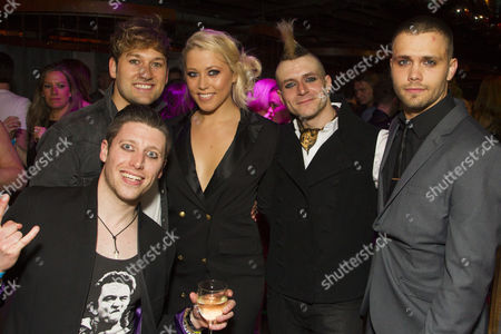 Llandyll Gove (Gerard), Steve Rushton (Will), Amelia Lily Oliver (Whatshername), Lucas Rush (St Jimmy) and Alexis Gerred (Tunny)