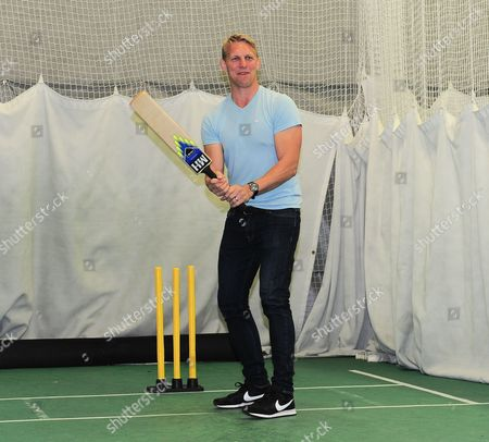 Lewis Moody bats in his visit to Millichamp and Hall.