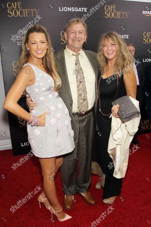 Blake Lively, Ernie Lively, Elaine Lively