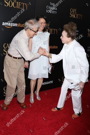 Woody Allen, Soon-Yi Previn and Cindy Adams