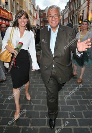 Darcey Bussell and David Tang