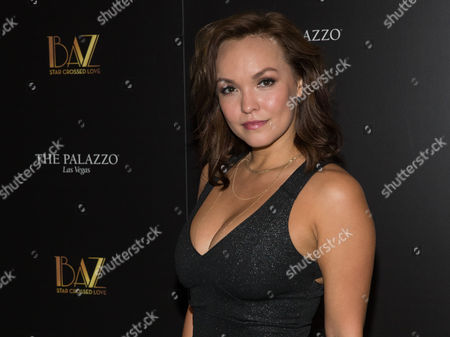 Editorial image of 'BAZ - Star Crossed Love Opening Celebration', The Palazzo Theatre, Las Vegas, USA - 12 Jul 2016