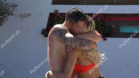 Adam hugs Liana Isadora Van Riel