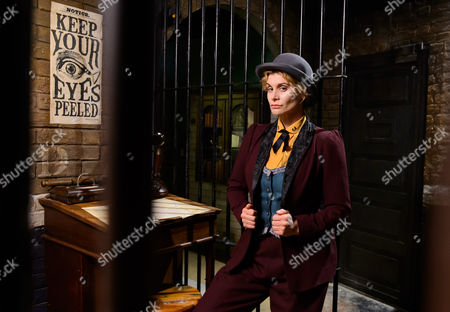Ex-Bill actress Kim Tiddy plays a female re-invention of Inspector Lestrade in a new Sherlock Holmes theatre whodunnit