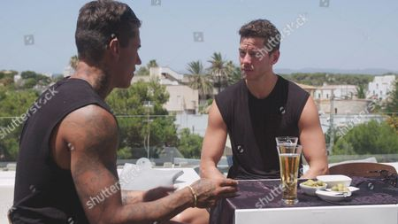 Terry Walsh and Scott Thomas go on a 'man date'. During the date Malin Andersson arrives to confront Terry