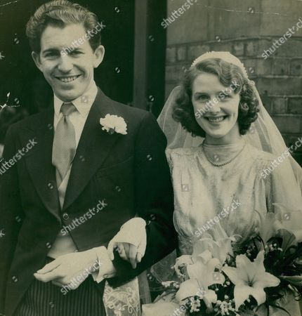 Wedding Of Actor George Cooper To Irene Sutcliffe A Member Of A Repertory Company. Box 672 315031633 A.jpg.