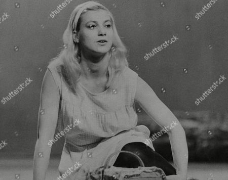 Judy Winter A Member Of The Bremen Theatre West Germany In The Play 'spring Awakening' At The Aldwych Theatre London. Box 673 422031615 A.jpg.