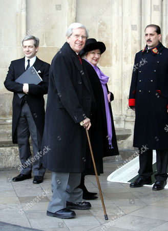 Bob Holness and wife Dolly