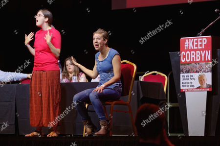 Editorial picture of Momentum Campaign rally in support of Labour Party leader Jeremy Corbyn at the Troxy, London, UK - 06 Jul 2016
