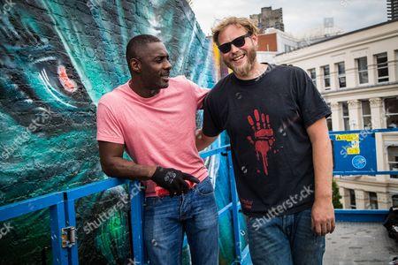 Editorial picture of 'Star Trek Beyond' street mural photocall, London, UK - 14 Jul 2016