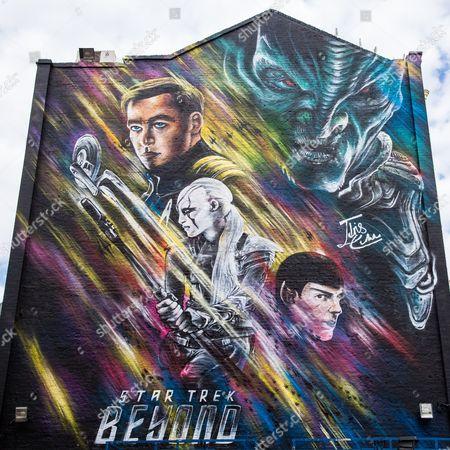 'Star Trek Beyond' mural by Jim Vision