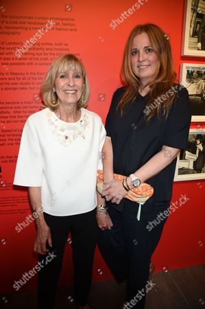 Stock Picture of Diana Donovan and Daisy Donovan