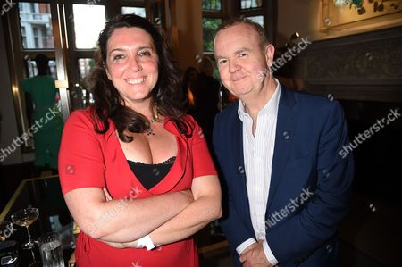 Bettany Hughes and Ian Hislop