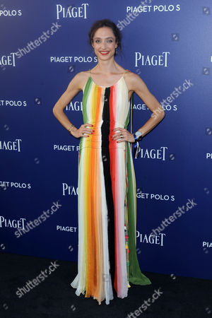 Editorial image of Piaget 'Polo S' launch, New York, USA - 14 Jul 2016