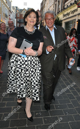 Cherie Blair QC and Sir David Tang