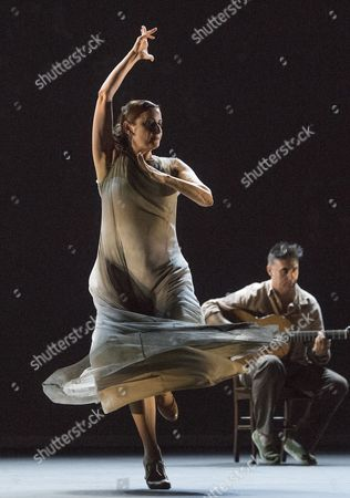 Editorial picture of 'Patrias' performed by Paco Pena Flamenco Dance Company performed at Sadler's Wells Theatre, London, UK, 13 Jul 2016