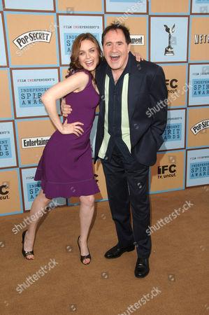 Emily Deschanel and Richard Klein
