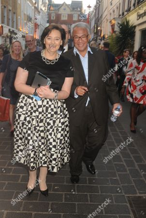 Cherie Blair and David Tang
