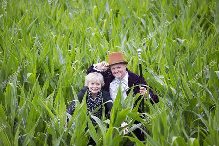 Editorial picture of Roald Dahl themed maize maze, York, UK - 15 Jul 2016