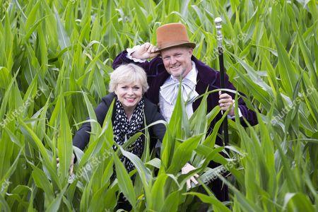 Editorial photo of Roald Dahl themed maize maze, York, UK - 15 Jul 2016