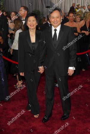 Jane Lin with Ang Lee