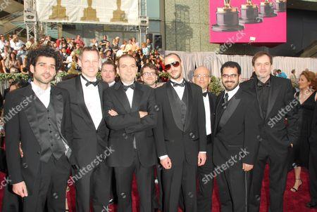 Stock Photo of Kais Nashef, Hany Abu-Assad, Amel Hlehel, Bero Beyer and Ali Sul