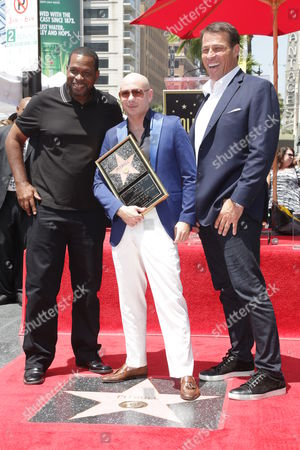 Tony Robbins, Pitbull and Luther Campbell