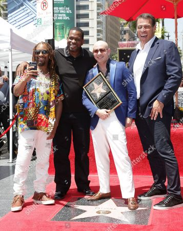 Lil Jon, Tony Robbins, Pitbull and Luther Campbell