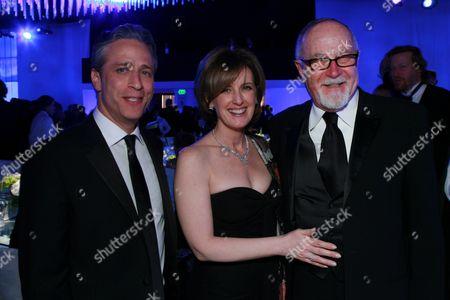 Jon Stewart and Gilbert Cates