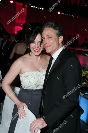 Jon Stewart and wife Tracey McShane