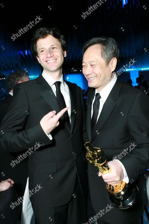 Stock Photo of Bennet Miller and Ang Lee