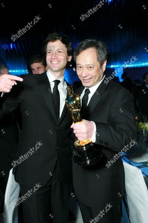 Stock Image of Bennet Miller and Ang Lee