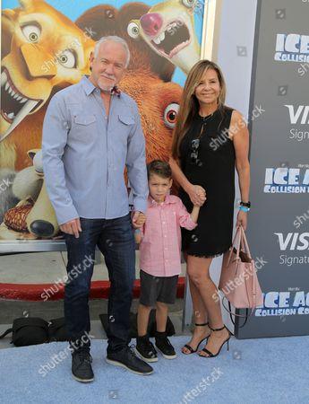 John Debney and family